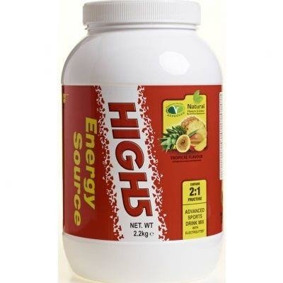 High5 2,2kg Energy Source - carbohydrate drink (tropical)