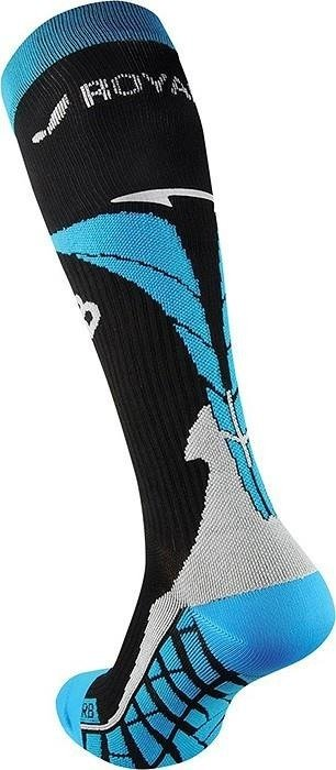 Royal Bay Air - knee compression (black and blue)