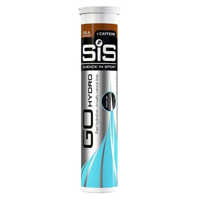 SIS Go Hydro 20x4g - tablets irrigation with caffeine (cola)