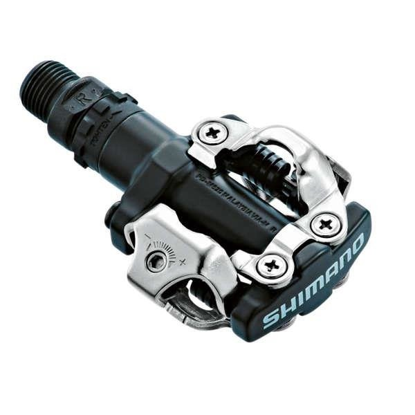 Shimano PD-M520 - SPD pedals cycling + blocks (black)