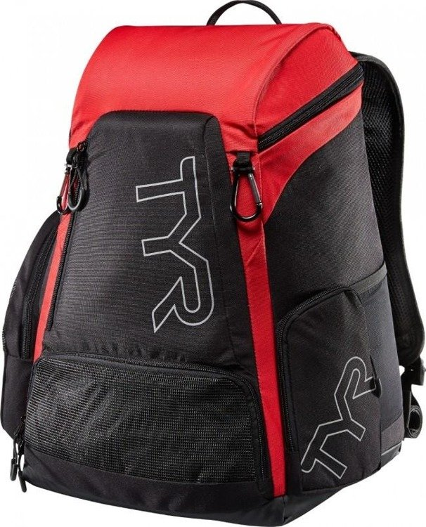 TYR Alliance Team 30L Backpack - Backpack training (black and red)
