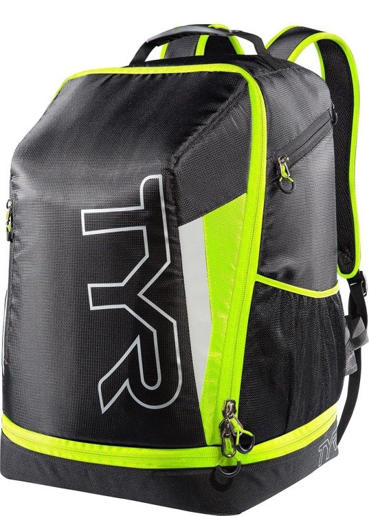 Tyr Apex Transition Backpack - triathlon backpack (black-yellow)