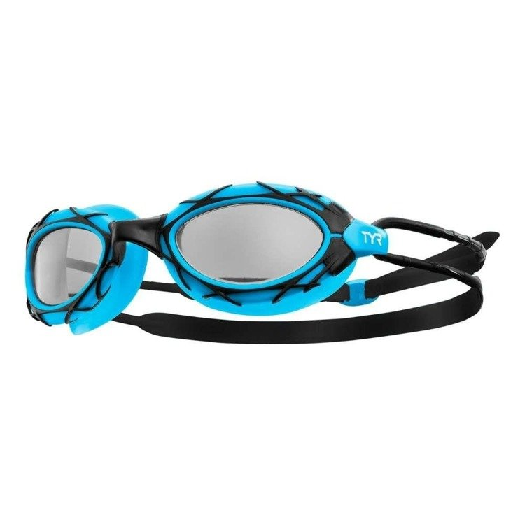 Tyr NEST PRO - swimming goggles (black-blue)
